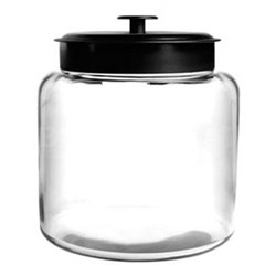 1.5-Gallon Montana Jar with Black Metal Lid - 88904