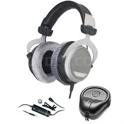 DT 880 Premium Headphones 32 OHM - 483931 with Microphone Bundle