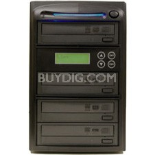 1 to 3 SATA Serial ATA 20x DVD+/-RW Drive CD DVD Multiple Burner Duplicator