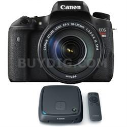 EOS Rebel T6s Digital SLR Camera w/ EF-S 18-135mm Lens + 1TB CS100 Storage Hub