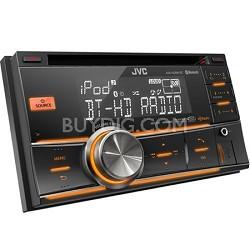 2-DIN Bluetooth Dual USB-CD Receiver HD (KWHDR81BT)