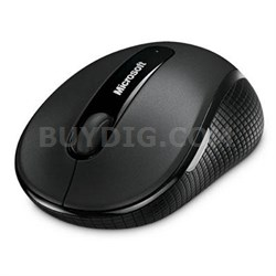 Wireless Mobile Mouse 4000 in Black for Business - 4DH-00001