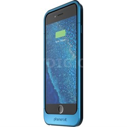 Elite Battery Case for iPhone 6 and 6s, Blue