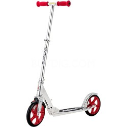 A5 Lux Scooter Silver/Red - 13013201