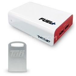 PCPB90002 FUEL+ 9000 mAh battery pack (2 ports) + 32GB USB 3.0