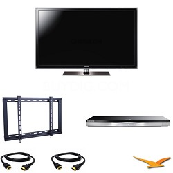 UN55D6300 55 inch 120HZ 1080p LED Smart TV Bundle