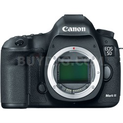 EOS 5D Mark III 22.3 MP Full Frame CMOS Digital SLR Camera (Body) - OPEN BOX