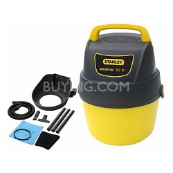 1-G1.5 P Portable Poly Series Horsepower Wet or Dry Vacuum Cleaner - SL18125P-1