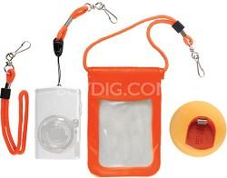 Jellyfish Digital Camera  Accessory Floating Waterproof Kit.
