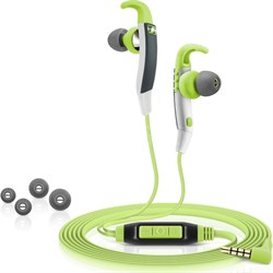 CX 686G Sports In-Ear Headphones with Microphone (Green)