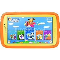 "Galaxy Tab 3 - 7.0"" Kids Edition (Yellow w/ Orange Bumper Case) - OPEN BOX"