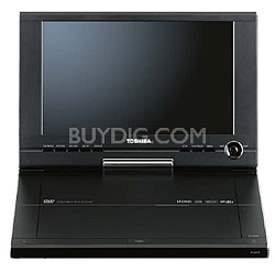 "SD-P101S Portable DVD Player w/ 10.2"" LCD Swivel Display"