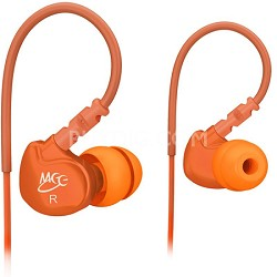 M6 Sports In-Ear Headphones (Orange)