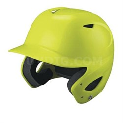 SuperFit Batting Helmet in Optic Yellow - WTA5407OY