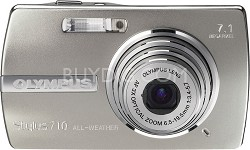Stylus 710 7.2MP Ultra-Slim Weather-Resistant Digital Camera