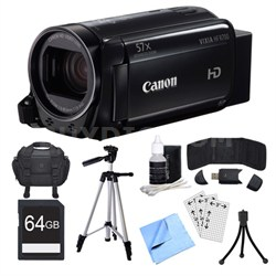 VIXIA HF R700 Black Camcorder, 64GB Card, and Accessories Bundle