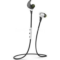 BlueBuds X Sport Bluetooth Headphones - Storm White