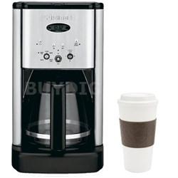 DCC-1200 Brew Central 12Cup Programmable Coffeemaker (Silver) w/ Copco 16oz. Mug