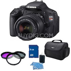 EOS Digital Rebel T3i 18MP SLR Camera 18-55mm IS PRO Kit