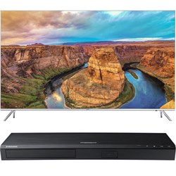 "65"" SUHD Smart LED TV - UN65KS8000 + Samsung UBDK8500 4K UHD Blu-Ray Player"