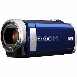 "GZ-E200AUS - HD Everio Camcorder f1.8 w/ 40x Zoom & 3.0"" Touchscreen (Blue)"