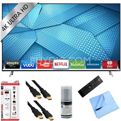 M43-C1 - 43-Inch 120Hz 4K Ultra HD M-Series LED Smart HDTV Plus Hook-Up Bundle