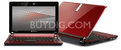 LT2033U 10.1 1GB/160/XP HOME/6CELL/BLUETOOTH/RED