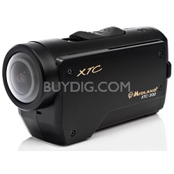XTC-300VP4 1080p HD Wearable Action Camera with 4 Mounts and Submersible Case