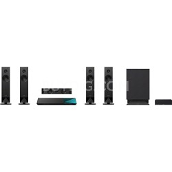 BDVN7100W - 5.1 Channel 3D Blu-ray Disc Home Theater System