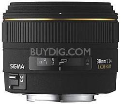 30mm f/1.4 EX DC HSM Autofocus Lens for Nikon Digital SLR Cameras- OPEN BOX