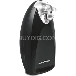 Classic Chrome Heavyweight Can Opener - Black