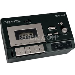 Cassette Player for USB to PC Recording