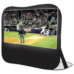 "84"" Pop Up Instant Portable Projection Screen in Black - XL-84POP"