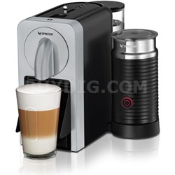 Prodigio Smart Connected Coffee, Espresso Maker and Milk Frother (Silver)