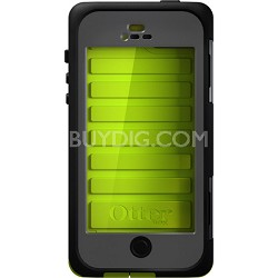 Armor Series Waterproof Case for iPhone 5 - Neon Green - OPEN BOX