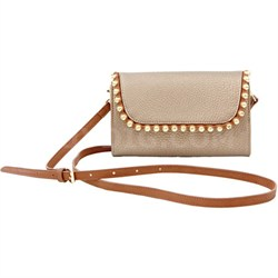 Geneva Shoulder Bag - Bronze