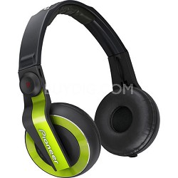 HDJ-500 DJ Headphones, Lime Green