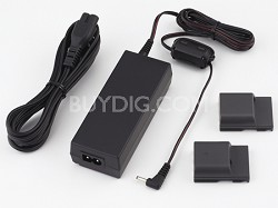 ACK-DC20 AC Adapter Kit for Powershot G9, G7, S80