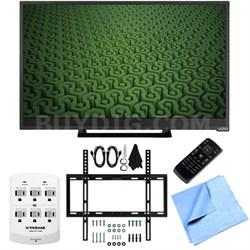 D28h-C1 - 28-Inch Full HD 720p 60Hz LED HDTV Slim Flat Wall Mount Bundle
