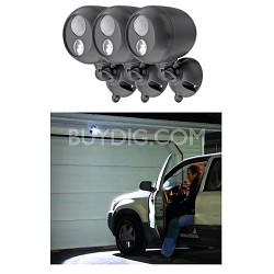 MB360 Wireless LED Spotlight with Motion Sensor 3 Pack
