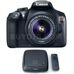 EOS Rebel T6 Digital SLR Camera w/ EF-S 18-55mm Lens + 1TB CS100 Storage Hub