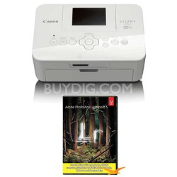 SELPHY CP910 White Wireless Compact Photo Printer w/ Photoshop Lightroom 5