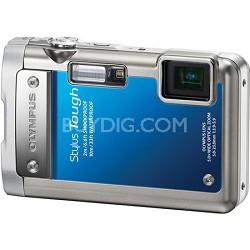 Stylus Tough 8010 Waterproof Shockproof Freezeproof Blue Camera REFURBISHED