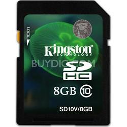 8GB SDHC Class 10 Flash Card