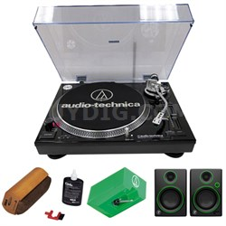 Professional Stereo Turntable w/ USB LP to DIG Recording w/ Exclusive Bundle
