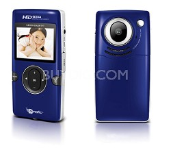 "eCam101B 720P HD Flash Memory Camcorder with 1.5"" Color Display"