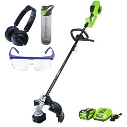 40V 14-inch DigiPro String Trimmer w/ Safety Bundle