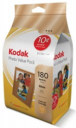 Everyday Photo Value Pack - ink and paper - 180 sheets 4x6