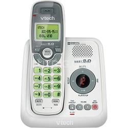 CS6124 DECT 6.0 1 Handset Cordless Phone with Answering Machine - White/Grey