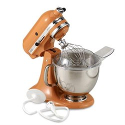 Artisan Series 5-Quart Tilt-Head Stand Mixer in Tangerine - KSM150PSTG